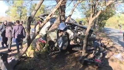 Falleció el hijo del Chiqui Arce en un fatal accidente de tránsito