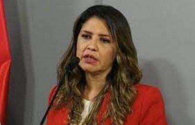Ministra de Justicia pide una cárcel de máxima seguridad para mujeres