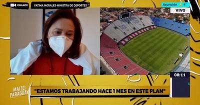 La Nación / Regreso seguro a estadios favorecerá a otros deportes