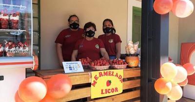 ¡Productores de Areguá ya esperan a los amantes de la frutilla!