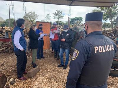 Ministerio de Trabajo suspende aserradero de Itapúa por presunto hallazgo de trabajo infantil