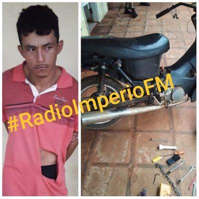 Detienen a un joven de 22 años con escopeta y recuperan objetos robados