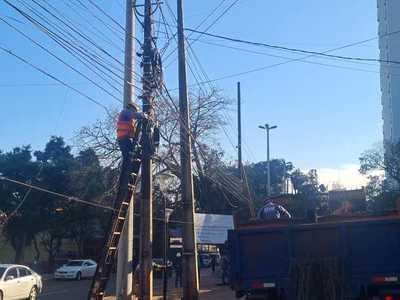 Concluyen primer tramo de obras de modernización del sistema eléctrico de distribución en CDE