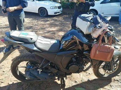 Presidente Franco: intervienen supuesto aguantadero de delincuentes y recuperan moto robada