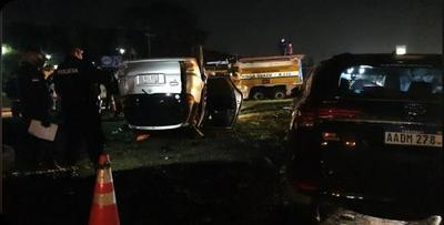 Reportan accidente de tránsito fatal en el Km 12 de CDE
