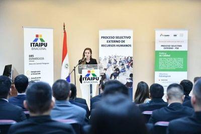 Itaipu convoca a concurso para cubrir 179 vacancias laborales