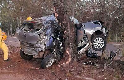 """Hijo de """"Chiqui"""" Arce muere en accidente en zona de Ñu Guasu"""