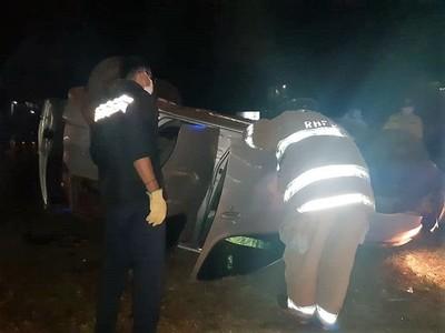 Un muerto en CHOQUE FRONTAL sobre la Ruta 02