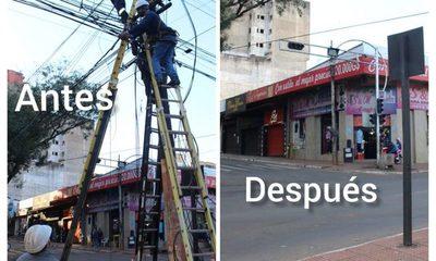 Ande finalizó trabajos de modernización del sistema eléctrico en Ciudad del Este – Diario TNPRESS