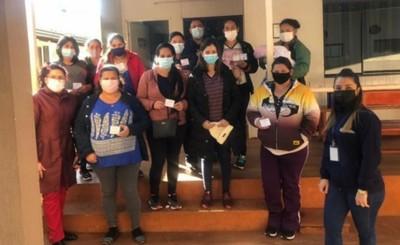 Vacunatorios prácticamente vacíos para la segunda dosis en Alto Paraná