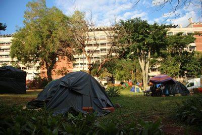 Campo de desplazados
