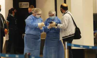 Salud establece cinco días de cuarentena para viajeros