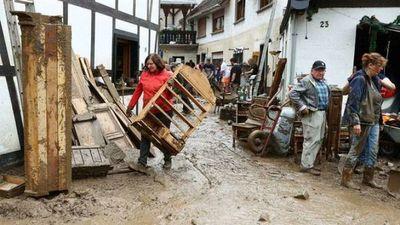 Los alemanes demuestran su solidaridad tras las mortíferas inundaciones en su país