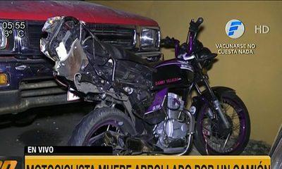 Bache ocasiona fatal accidente de tránsito