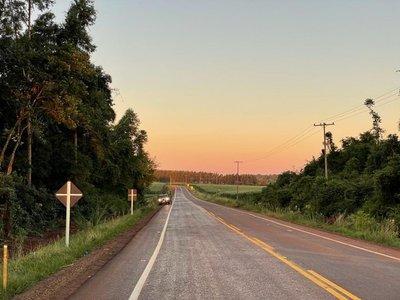 Gobierno inauguró nueva ruta asfaltada en Itapúa