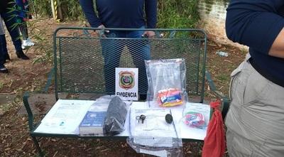 Sospechan que proyectiles y granada pudo tener como destino a Carmen Villalba