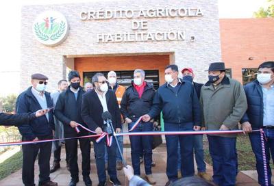 Nueva sede del CAH en Itapúa Poty para asistir a más familias productoras