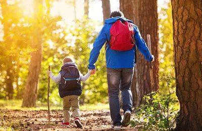 Receso de invierno: recomiendan a padres realizar actividades al aire libre con sus hijos