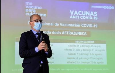 Personas con 20 años en adelante serán inmunizadas contra el Covid-19 desde el 21 de julio