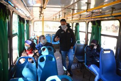 Controlan precio del pasaje en buses de CDE
