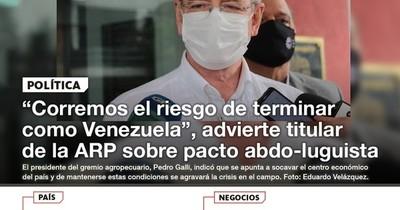La Nación / LN PM: Las noticias más relevantes de la siesta del 19 de julio