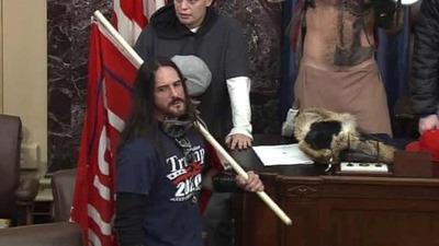 Condenan a ocho meses de prisión al primer asaltante del Capitolio