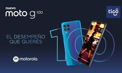 Tigo y Motorola acercan a sus clientes la  nueva experiencia de uso del smartphone:  el Moto g100 con Ready For