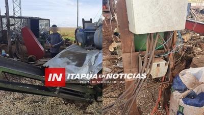 TRAS HALLAR A UN NIÑO TRABAJANDO ENTRE MAQUINARIAS PELIGROSAS SUSPENDEN ASERRADERO EN MA. AUXILIADORA.