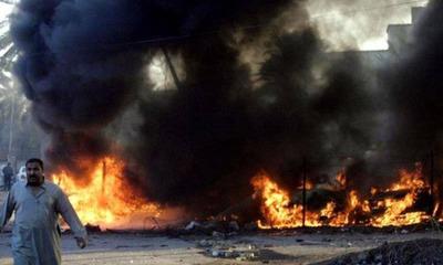 Suben a 25 los muertos y 60 los heridos por explosión en un mercado de Bagdad