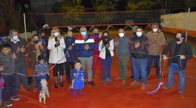 Inauguran mejoras realizadas en el Club Ykuá Angu'a de Villarrica