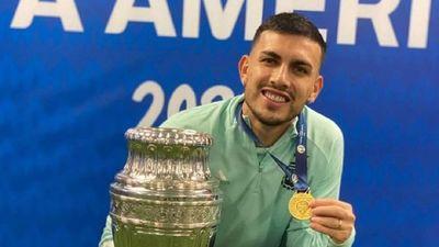 Leandro Paredes, un campeón de América con sangre guaraní