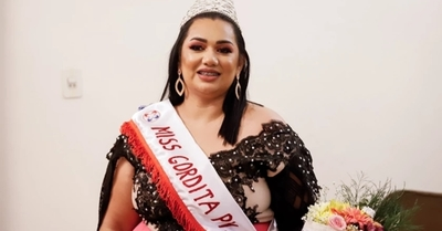 Tatiana Aquino fue adjudicada con la corona de Miss Gordita 2021