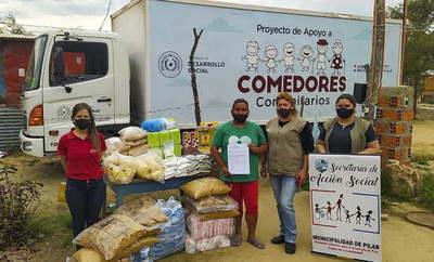 MDS entregó 32 toneladas de alimentos a organizaciones comunitarias