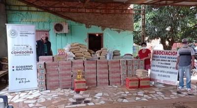 Entregaron 32 toneladas de alimentos no perecederos a organizaciones comunitarias