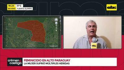 Feminicidio en Alto Paraguay