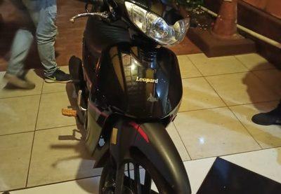 Usó moto de su vecina para ir a robar