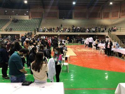 Falta de previsión dejó sin dosis a los vacunatorios de Alto Paraná
