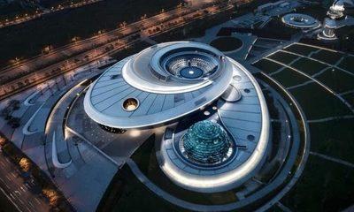 China abre el planetario más grande del mundo