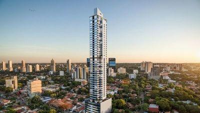 Petra Tower se convertirá en el edificio más alto de Paraguay y alcanzará 172 metros