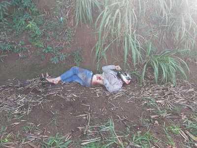 """Muerte en el """"TUNEL NATURAL"""" de Santa Rita"""