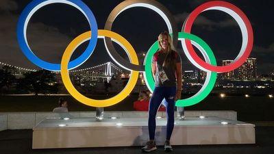 Paraguayos en  la Villa Olímpica