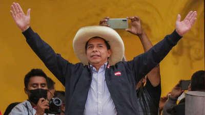 Elecciones en Perú: proclamaron a Pedro Castillo como presidente