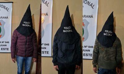 """Tres jóvenes detenidos en Costanera """"Ñande Renda"""" por posesión de droga – Diario TNPRESS"""