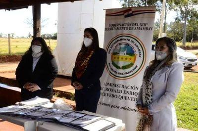 Gobernación de Amambay promueve cursos para mujeres emprendedoras