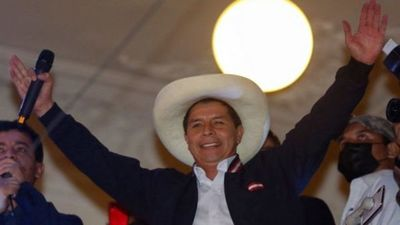 Pedro Castillo fue proclamado presidente electo de Perú