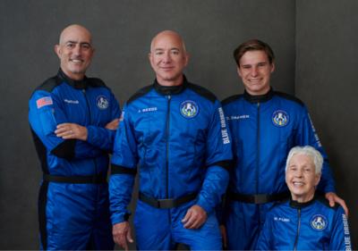 EN VIVO: Hoy viaja al espacio el primer vuelo tripulado de Blue Origin y esto debés saber