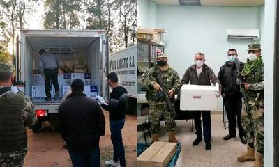 Llegaron más vacunas anti-Covid al departamento del Caaguazú – Prensa 5