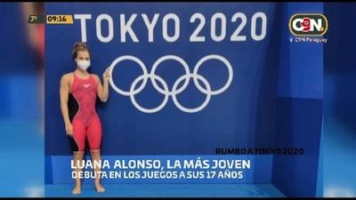 Rumbo a Tokyo 2020: Conocemos más a Luana Alonso, la más joven