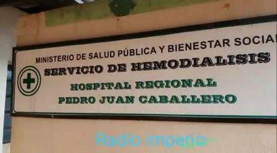 Hurtan pertenencias de la sala de servicio de hemodiálisis del Hospital Regional