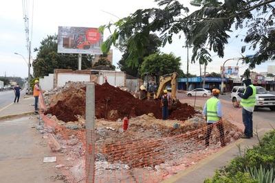 Demoliciones para liberar la franja de dominio continúan en zona del proyecto Tres Bocas